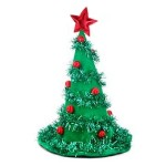 cap of christmas tree accessories