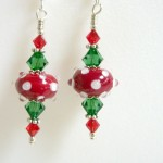 christmas earrings 2