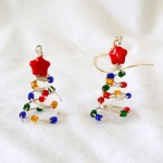 christmas earrings 3