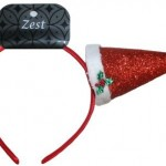 christmas hair accessories  with cap