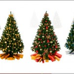colorfull christmas tree accessories
