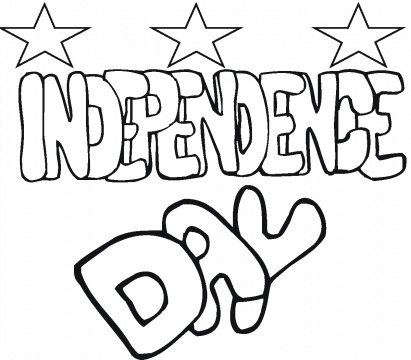 independence day pictures to color2