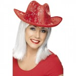 red christmas hats accessories