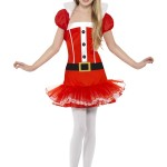 red girl christmas dress up