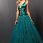 zinc christmas evening dress